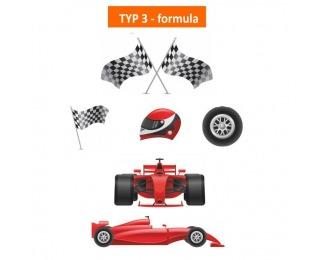 Sada nálepiek na nábytok Svend Typ 43 - formula