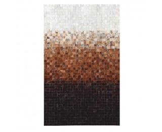 Kožený koberec Typ 7 140x200 cm - vzor patchwork