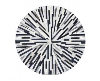 Kožený koberec Typ 8 200x200 cm - vzor patchwork