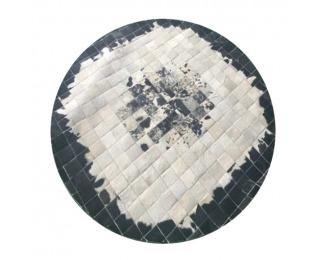 Kožený koberec Typ 9 150x150 cm - vzor patchwork