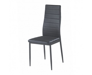 Jedálenská stolička Coleta New - čierna / čierna