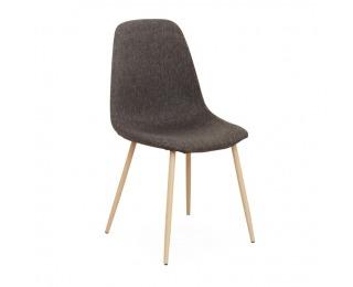 Jedálenská stolička Lega - tmavohnedá / buk