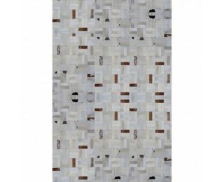 Kožený koberec Typ 1 200x300 cm - vzor patchwork