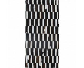 Kožený koberec Typ 6 69x140 cm - vzor patchwork