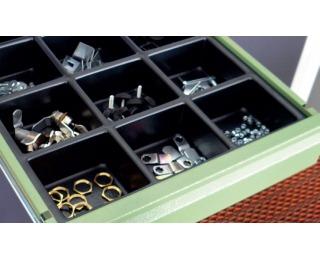 Organizér do zásuvky k dielenskému nábytku 06-2756 38,6 cm - čierna