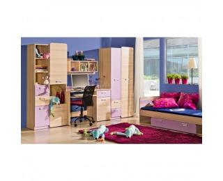 Detská izba Ego - jaseň / fialová
