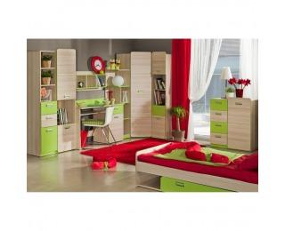 Detská izba Ego - jaseň / zelená