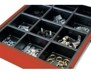 Organizér do zásuvky k dielenskému nábytku 06-2757 53,6 cm - čierna