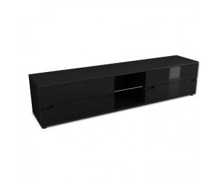 TV stolík Adonis AS 30 - čierna / čierny vysoký lesk