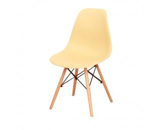 Jedálenská stolička Cinkla 2 New - cappuccino-vanilka / buk
