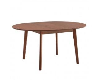 Okrúhly rozkladací jedálenský stôl Alton - buk merlot