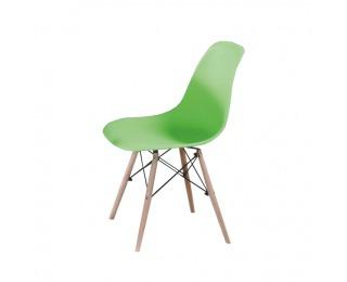 Jedálenská stolička Cinkla 2 New - zelená / buk
