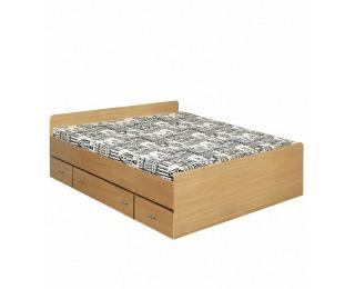 Manželská posteľ s úložným priestorom Duet 80262 140 - buk