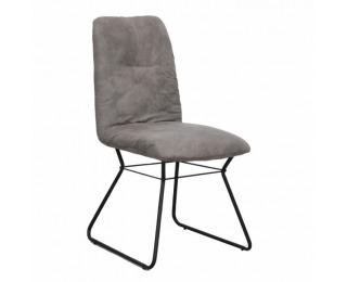 Jedálenská stolička Almira - sivá / čierna