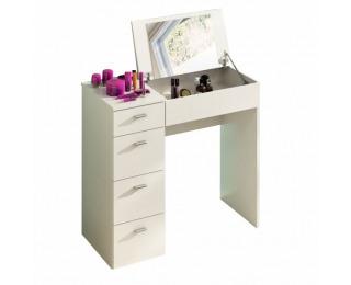 Toaletný stolík Belina - biela