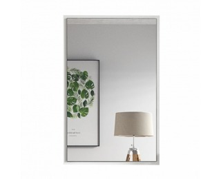 Zrkadlo na stenu Violet - biela