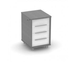 Kontajner na kolieskach Rioma Typ 30 - grafit / biela