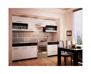 Kuchyňa Jura New B ZS - biela / wenge