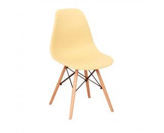 Jedálenská stolička Cinkla 3 New - cappuccino-vanilka / buk