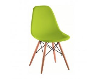 Jedálenská stolička Cinkla 3 New - zelená / buk