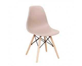 Jedálenská stolička Cinkla 3 New - teplá sivá / buk