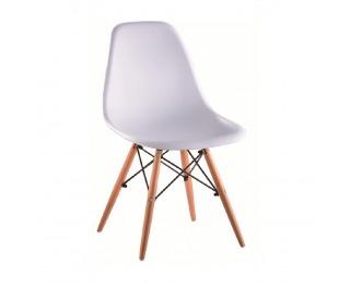 Jedálenská stolička Cinkla 3 New - biela / buk