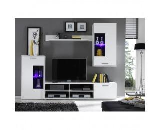 Obývacia stena Frontal 1 - biela