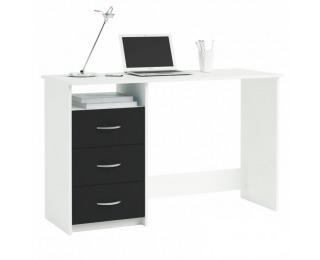 Univerzálny PC stolík Laristote 304375 L/P - biela / čierna