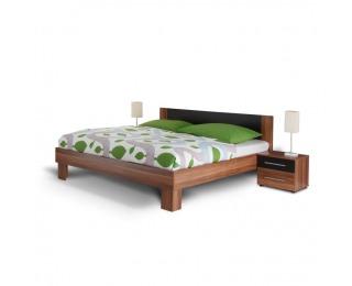 Manželská posteľ s nočnými stolíkmi (2 ks) Martina 180 - orech / čierna