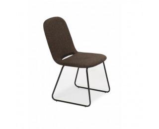 Jedálenská stolička Adlan - hnedá / čierna