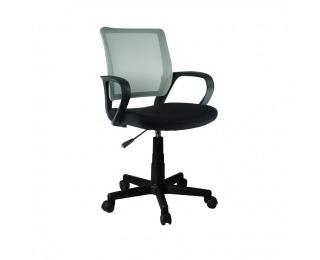 Kancelárska stolička s podrúčkami Adra - sivá / čierna
