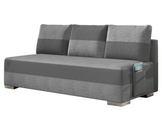 Rozkladacia pohovka s úložným priestorom Adria - svetlosivá / sivá