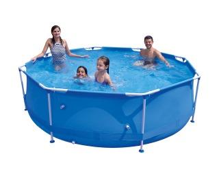 Bazén s konštrukciou a príslušenstvom Aquabel 300 cm - modrá