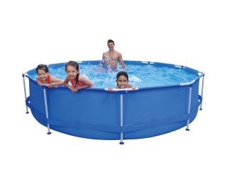 Bazén s konštrukciou a príslušenstvom Aquabel 360 cm - modrá