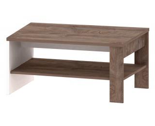 Konferenčný stolík Ares AS14 - dub enderein / biely lesk
