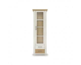 Jednodverová vitrína Armond Typ 5 - sosna nordická / dub kamenný