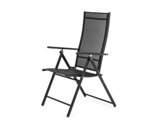Záhradná stolička Aron II - čierna