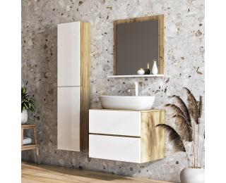 Kúpeľňa Baleta 60 - craft zlatý / biely lesk