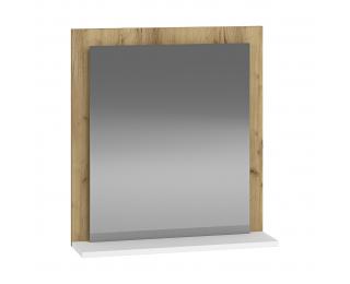Zrkadlo na stenu Baleta Z60 - craft zlatý / alaska