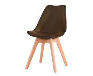 Jedálenská stolička Bali New - tmavohnedá / buk