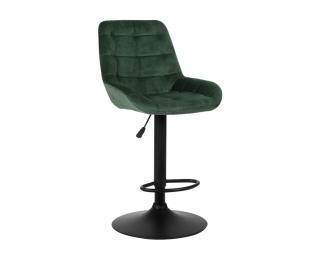 Barová stolička Chiro - tmavozelená