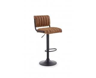 Barová stolička H-88 - hnedá / čierna
