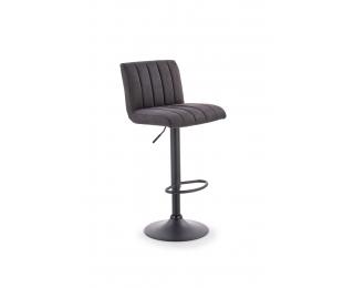Barová stolička H-89 - tmavosivá / čierna