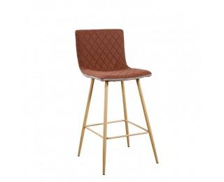 Barová stolička Torana - svetlohnedá / hnedá / buk