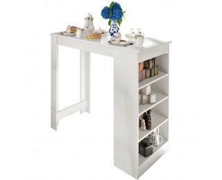 Barový stôl Austen - biela