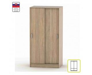 Šatníková skriňa s posuvnými dverami Betty 4 BE04-001-00 - dub sonoma