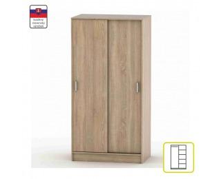 Šatníková skriňa s posuvnými dverami Betty 4 BE04-002-00 - dub sonoma