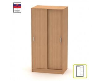 Šatníková skriňa s posuvnými dverami Betty 4 BE04-002-00 - buk