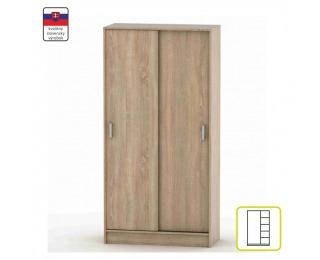 Šatníková skriňa s posuvnými dverami Betty 4 BE04-003-00 - dub sonoma