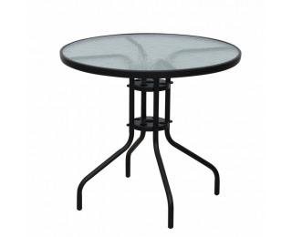 Záhradný stolík Borgen Typ 2 - čierna